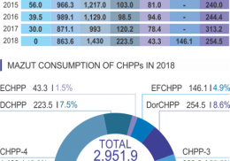 MAZUT CONSUMPTION OF CHPPs